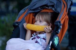 Помечтать за кукурузой.