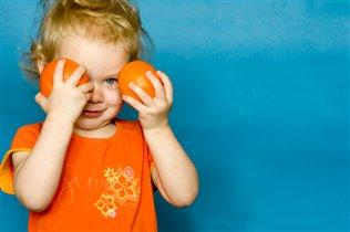 Оранжевые солнышки :)