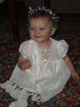 дочка-хохотушка (10 месяцев)