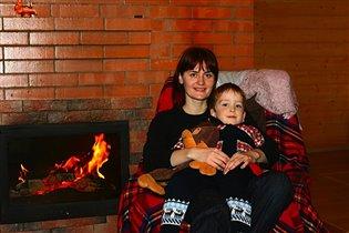 Рядом с мамой тепло и уютно