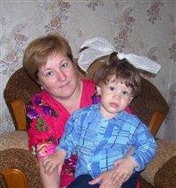 Видимо баба внучку хотела!