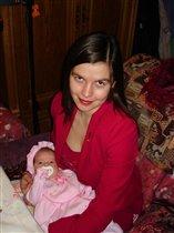 Машенька со мной.Новый год  2007 .