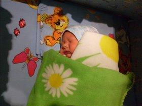 Сладко спим! первый день дома