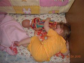 КАтюша с ВАнюшей спят