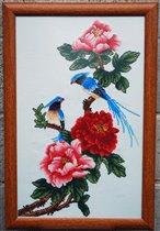 пионы и птички