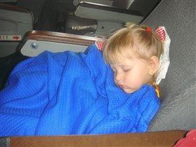 сладко-сладко спится в самолёте