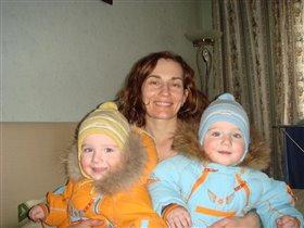 Мама и две радости