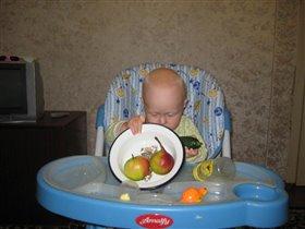 Так так огурчик есть,а где помидорчик?