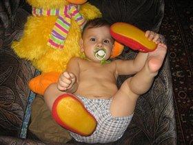 Ни минуты покоя!!!Сергей, 1 год 7 месяцев.