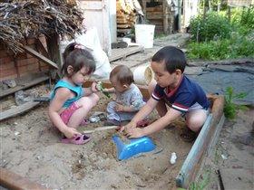Строим песочные замки