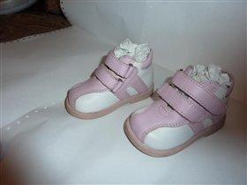 Ботинки Бам*бини, б/у, р-р 19, цена 350