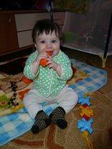 моя первая морковка