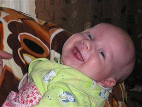 улыбка карапуза