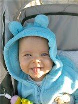 улыбчивый медвежонок)))