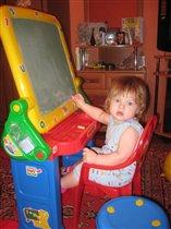 Локтева Александра, 1 год 3мес.