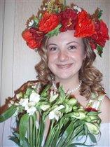 Самая красивая и необычная невеста!