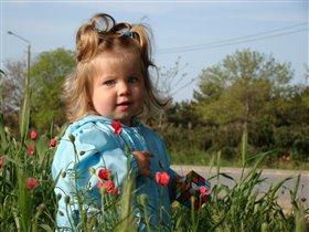 Весенний ветер гуляет в волосах...