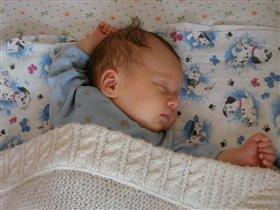 Очень сладко ты сопишь,сладких снов тебе,Малыш!!!