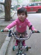 первая прагулка на велосипеде