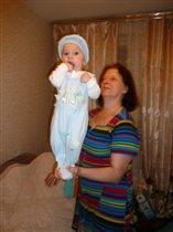 Бабушка с Дианочкой!