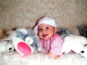 Карина (5 месяцев)