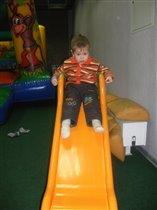Святослав в парке развлечений