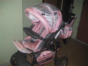 Детская коляска трансформер Bebetto Super Kid