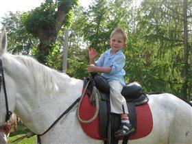 Рыцарь на белом коне.