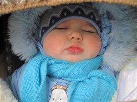 Люблю спать на свежем воздухе!