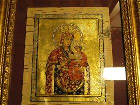 Черниговская Пресвятая Богородица, береста