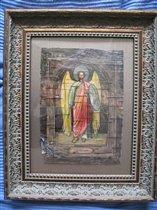 Старший Архангел Михаил, береста