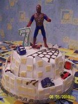Мой первый двух-ярусный торт