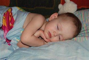 Егорка спит