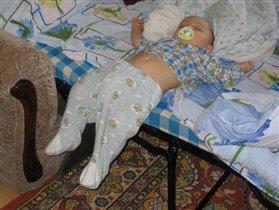 Заснул на полпути)))
