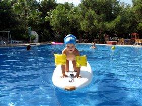 Заплыв на серфинге