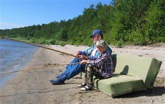Рыбалка с комфортом