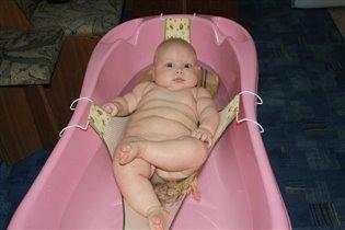 Полина Александровна принимают ванну