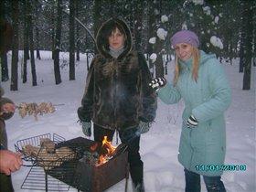 А зимой шашлыки вкуснее!!!