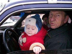 Скоро дедушку буду сам возить