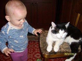 Ярослав интересуется как дела у кота Василия!!!