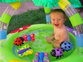 Разноцветное купание