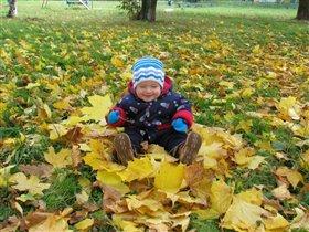 Ой,сколько много листочков!!!