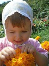 А кто там в цветочке