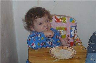 Когда я ем -  я глух и нем!
