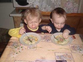 Вместе кушать веселей!