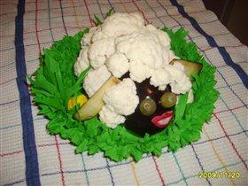 Овощная овца на Ярмарку в Д/С