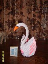 Царевна- Лебедь (модульное оригами)