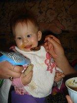 Кеша, не ешь хлебушек!!!!