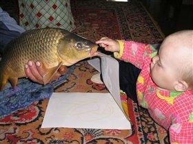И кто сказал, что рыбы не разговаривают? ;)