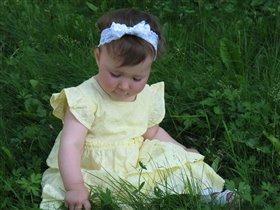 Солнышко в траве.